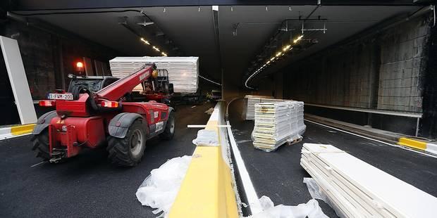 Le tunnel Montgomery bientôt rouvert. Place à ceux de Porte de Hal, Reyers et Léopold II - La Libre
