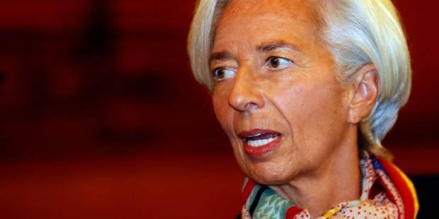 """Affaire Tapie: peut-être """"abusée"""", mais jamais """"négligente"""", Christine Lagarde se défend - La Libre"""