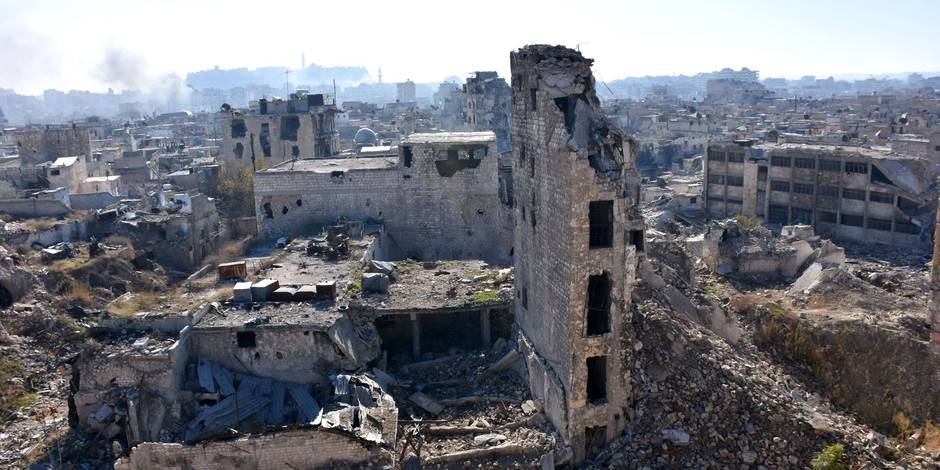 Edito : une défaite et un soulagement à Alep - La Libre