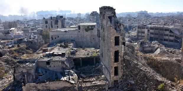 Des groupes rebelles bloqueraient les civils à Alep-est - La Libre