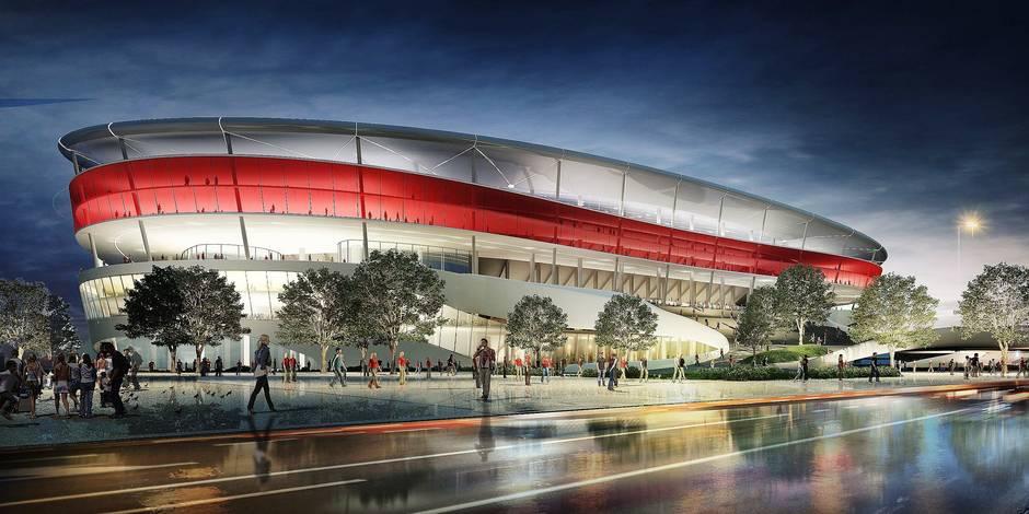 """Stade national: à l'heure pour l'Euro 2020, mais """"la direction d'Anderlecht est divisée"""""""