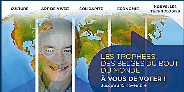 Voici les lauréats des Trophées des Belges du bout du monde - La Libre