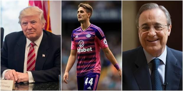 """Trump, Florentino Perez et Januzaj au coeur de nouvelles révélations du """"Football Leaks"""" - La Libre"""