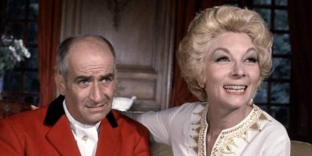 Décès de l'actrice Claude Gensac, épouse à l'écran de Louis de Funès (PHOTOS + VIDEO) - La Libre