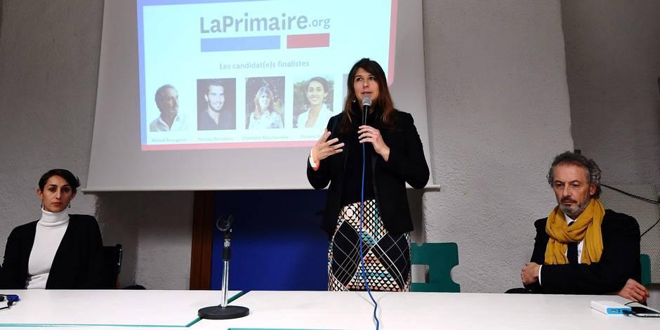 """Charlotte Marchandise, candidate """"citoyenne"""" à la présidentielle française"""