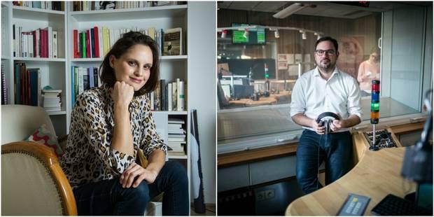 Juliette Goudot et Camille De Rijck, deux approches de la culture en radio - La Libre