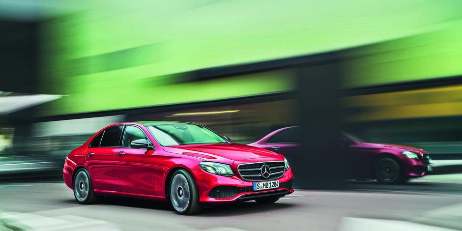 Mercedes-Benz E 220D : Vitrine technologique vers la voiture autonome