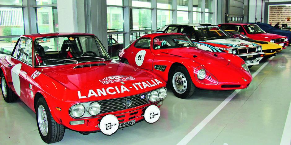 Au cœur de l'usine historique Mirafiori à Turin, Abarth Classiche préfigure le «FCA Classiche»
