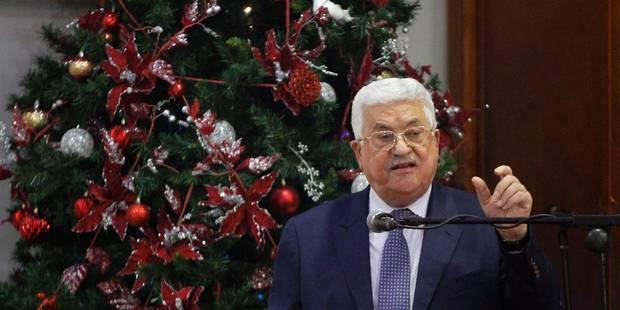 Transfert de l'ambassade américaine à Jérusalem: Abbas menace de revenir sur la reconnaissance d'Israël - La Libre
