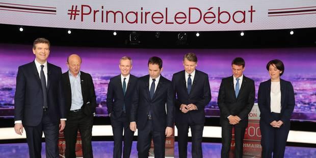 Primaire PS: 2e round télévisé pour les sept candidats - La Libre