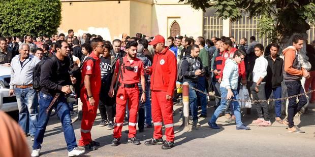 Egypte: huit policiers tués au sud-ouest du Caire - La Libre