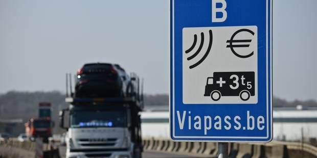 Taxe kilométrique: Des chauffeurs routiers utilisent un brouilleur de gps pour éviter de payer - La Libre
