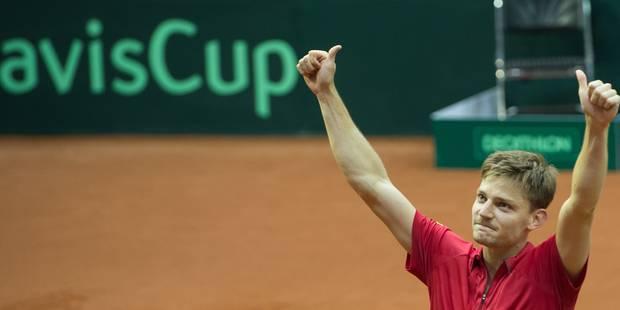Coupe Davis: la Belgique ira en Allemagne avec Goffin, Darcis, Bemelmans et De Loore - La Libre