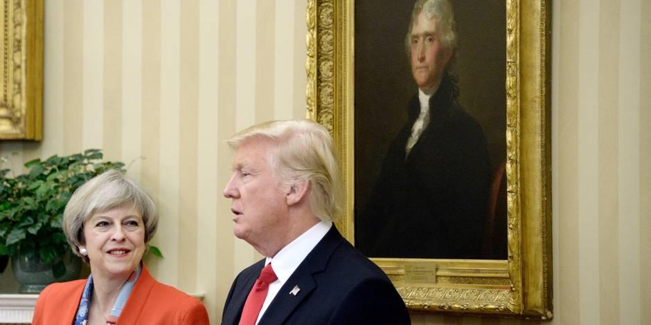 """""""De grands jours attendent nos deux peuples et nos deux pays"""": Donald Trump invité par la reine Elizabeth"""