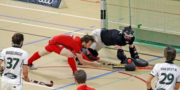 Hockey indoor : Garreta envoie Louvain en enfer - La Libre