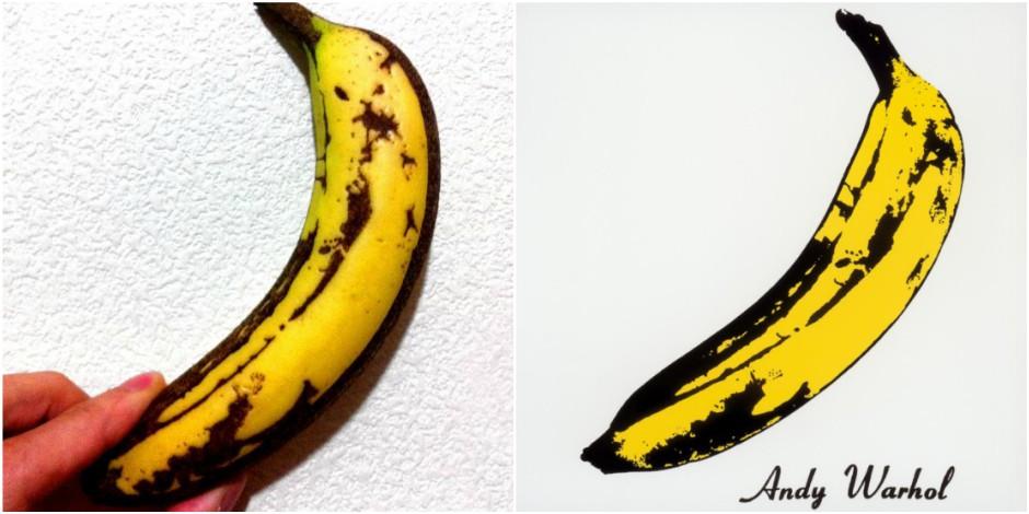 Un artiste reproduit, en vrai, la fameuse banane d'Andy Warhol