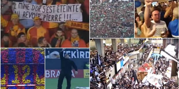 Ces 12 vidéos de supporters qui donnent des frissons (VIDEOS) - La Libre