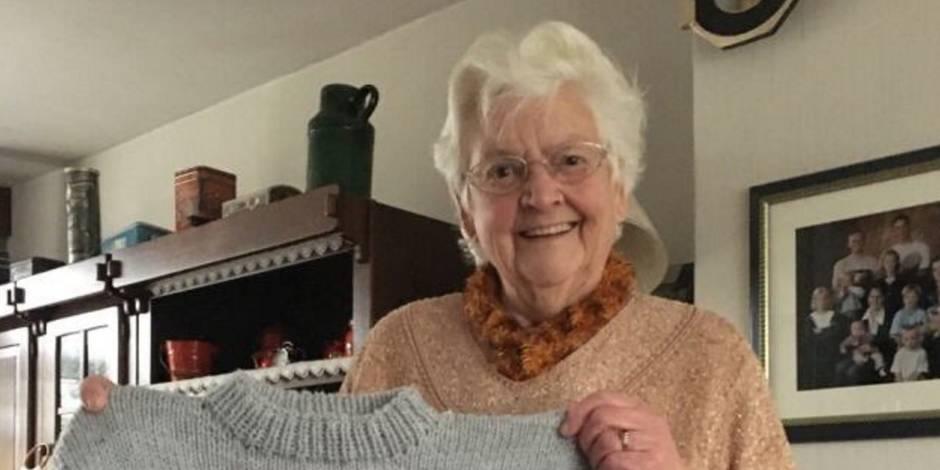 Juste après son coming out, elle reçoit un magnifique cadeau de sa grand-mère