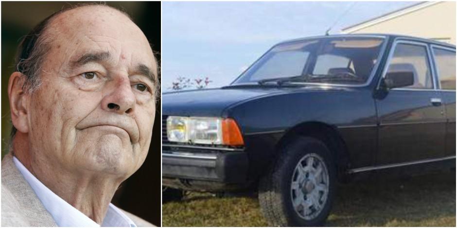 2.500 euros pour vous offrir la voiture de... Jacques Chirac