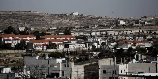 Selon une ONG, plus de 421.000 colons israéliens vivaient en Cisjordanie occupée fin 2016 - La Libre