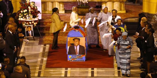 Funérailles de l'opposant Tshisekedi en RDC : embrouilles autour d'un cercueil - La Libre