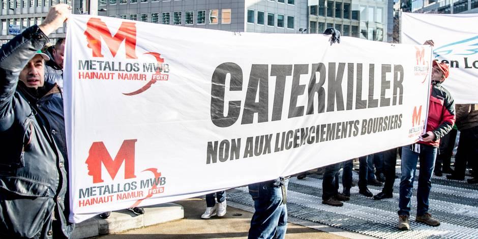 Caterpillar : un investisseur russe veut visiter le site de Gosselies