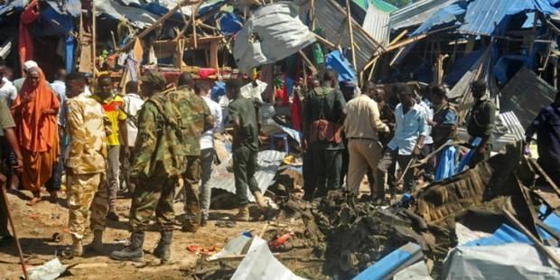 Mogadiscio: au moins 20 morts dans un attentat à la voiture-suicide - La Libre