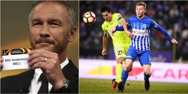 Anderlecht tire l'Apoel Nicosie, Gand et Genk se rencontreront ! - La Libre