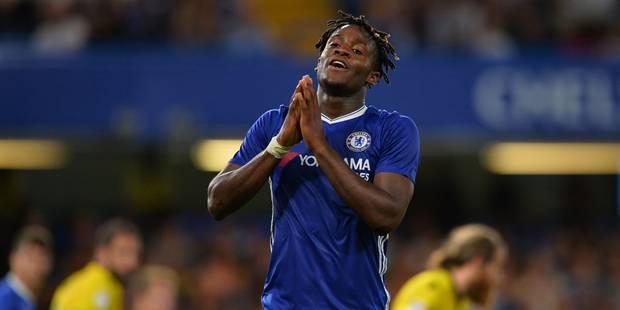 Michy Batshuayi voudrait quitter Chelsea dès cet été - La Libre