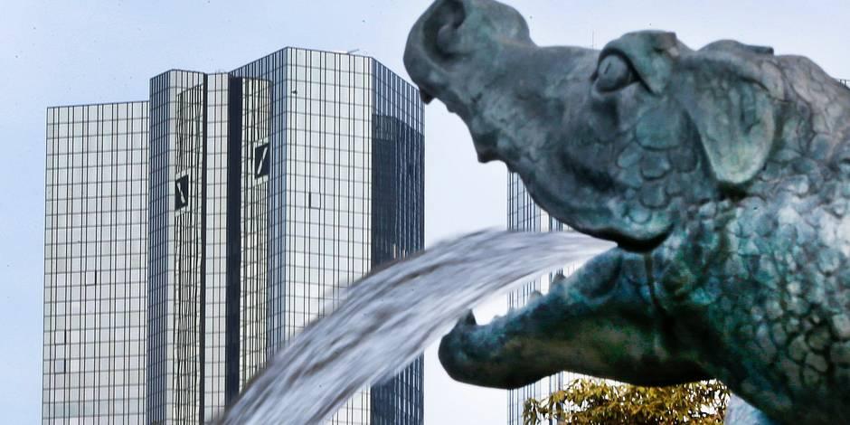 L'action Deutsche Bank chute en bourse après l'annonce d'une augmentation de capital