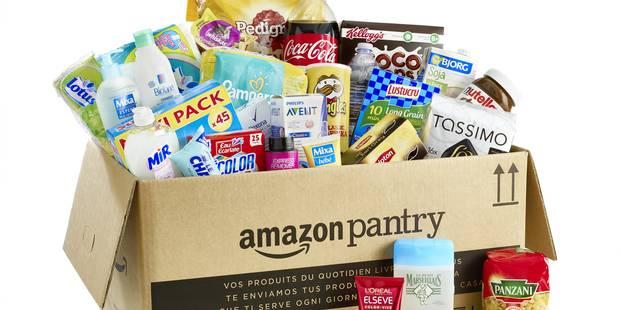 """Avec """"Pantry"""", le géant Amazon livre vos courses à domicile - La Libre"""