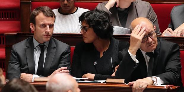 Présidentielle française: Le ministre de la Défense Le Drian a choisi Macron plutôt que Hamon - La Libre