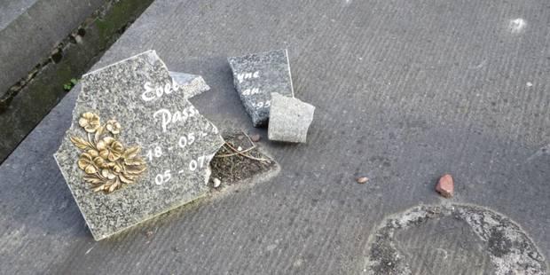 Nivelles: Le cimetière de Baulers ciblé par des vandales - La Libre