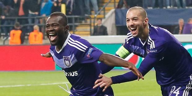 Europa League: Anderlecht valide son ticket pour les quarts de finale (1-0) - La Libre