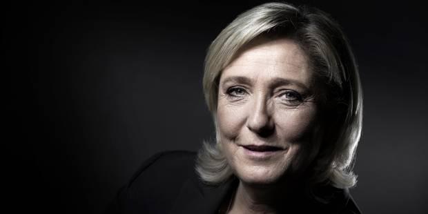 """Marine Le Pen veut savoir """"qui part acheter des armes en Belgique"""" - La Libre"""