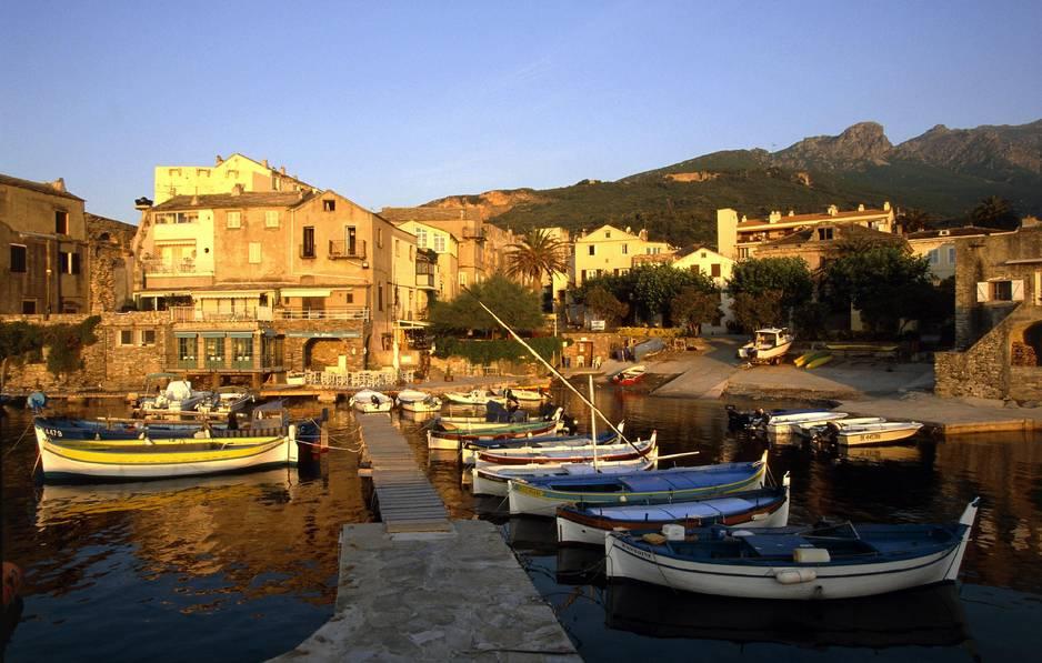 Erbalunga, adorable petit port non loin de Bastia.