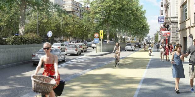 La petite ceinture de Bruxelles transformée au profit des piétons et des cyclistes (PHOTOS) - La Libre