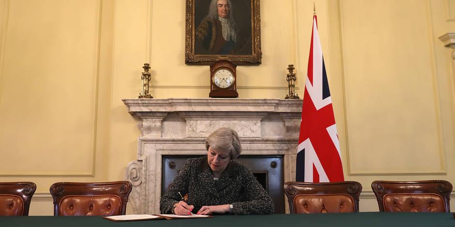 Brexit: Voici les principaux points de la lettre de Theresa May à Bruxelles