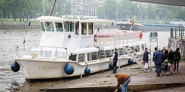 Le retour des navettes fluviales à Liège - La Libre