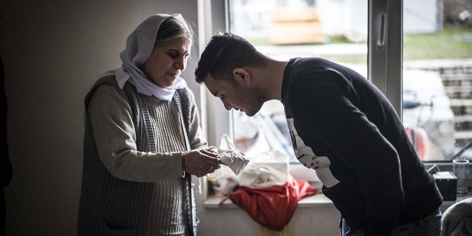 Sauvés par l'Allemagne, hantés par Daech: L'exil des Yézidis (REPORTAGE)