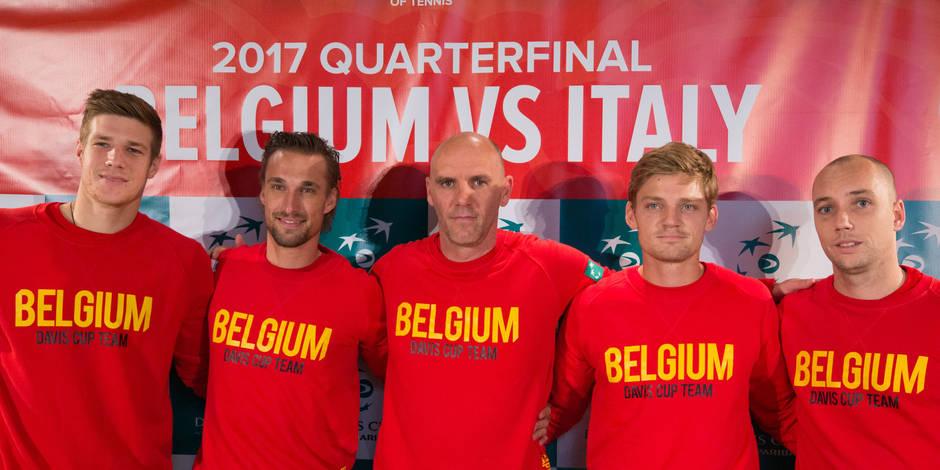 Coupe Davis: Belgique-Italie: découvrez les réactions des joueurs belges