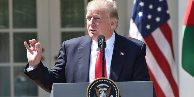 """Trump : """"Mon attitude vis-à-vis d'Assad a changé"""" suite à l'attaque chimique en Syrie - La Libre"""