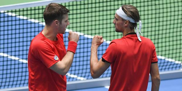 Coupe Davis: l'Italie remporte le double et revient à 2-1 - La Libre