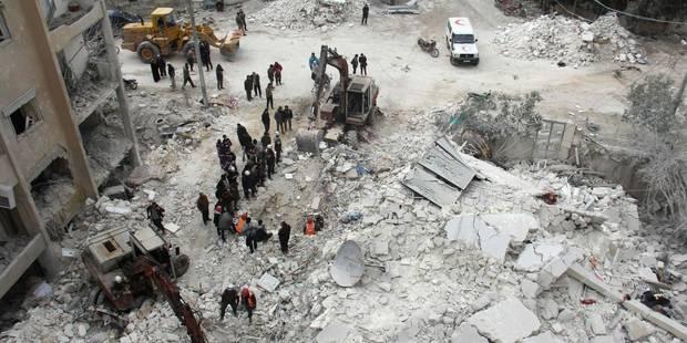 Syrie: 18 civils dont 5 enfants tués dans un raid à Idleb - La Libre