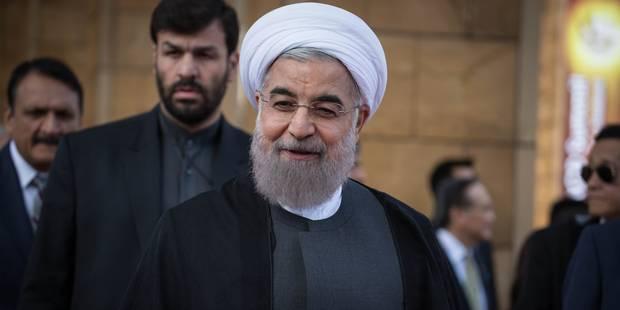"""Rohani (Iran) défend son bilan économique: """"Depuis l'accord nucléaire, il y a davantage d'espace pour le progrès"""" - La L..."""