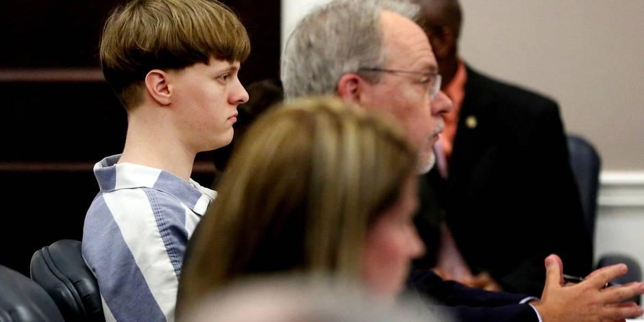 Dylann Roof condamné à neuf peines de prison à vie