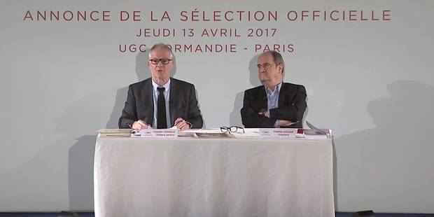 Cannes 2017: trois coproductions belges en compétition, découvrez la Sélection officielle - La Libre