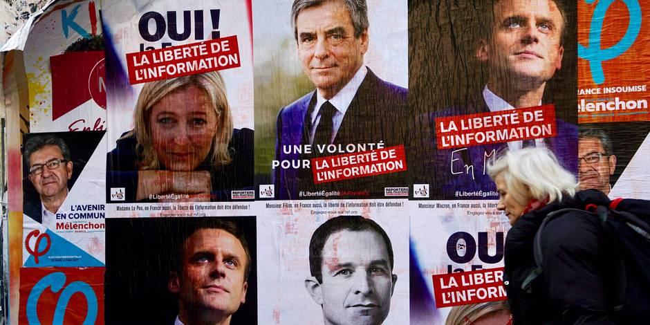 Sondage sur la présidentielle française : Les écarts se resserrent