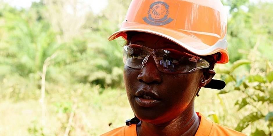 Tiguidanké Camara, première femme propriétaire d'une firme minière en Afrique de l'Ouest