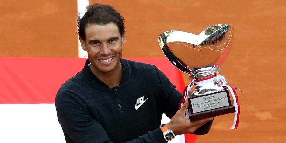 Rafael Nadal s'offre sa Decima à Monte-Carlo